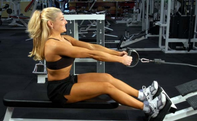 Seated Cable Rows Exercise