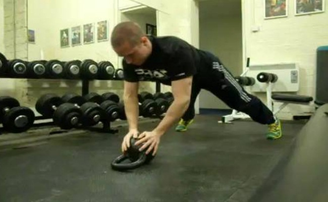 Offset Close Grip Push Up Combo