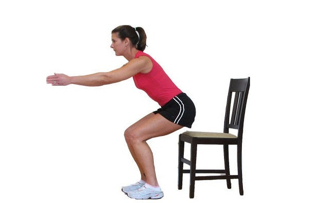 Sit to Stand Workout
