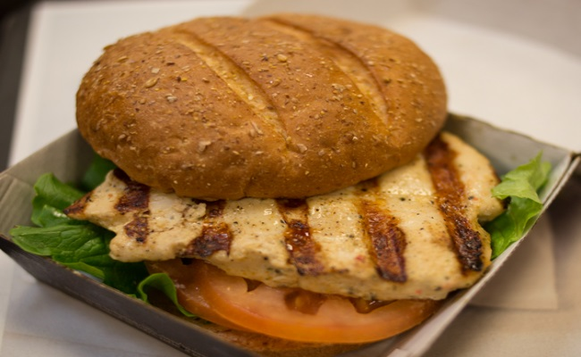 Grilled Sandwiches Made Of Chicken