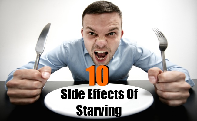Serious Side Effects Of Starving
