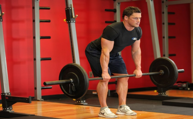 Reverse Grip Bent-Over Barbell Rows