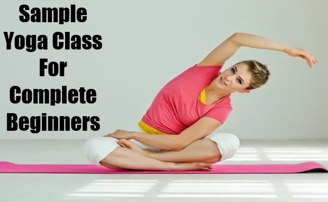 Sample Yoga Class For Complete Beginners