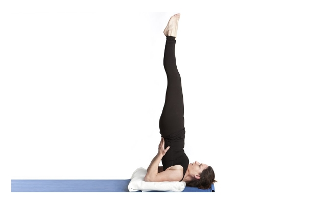 Shoulder Stand Exercise