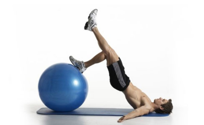 Leg Curl using ball