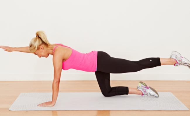 Arm and Leg Plank