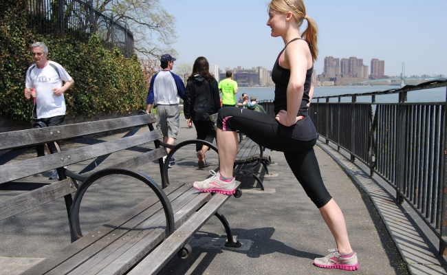 Step-Up On A Bench