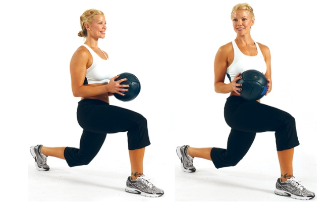 Chop and Lunge