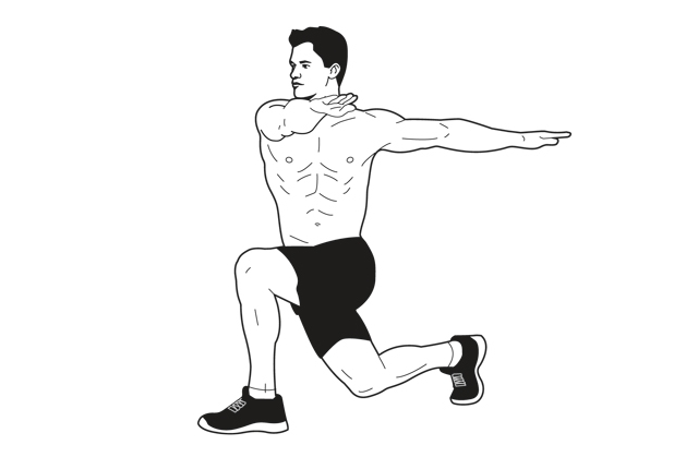 Lunge With Twist