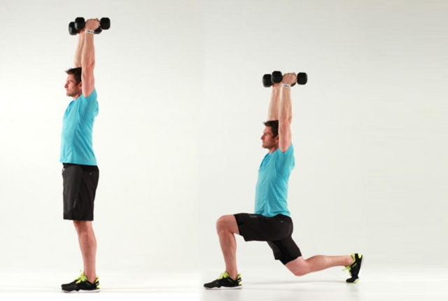 Dumbbells Overhead Extension