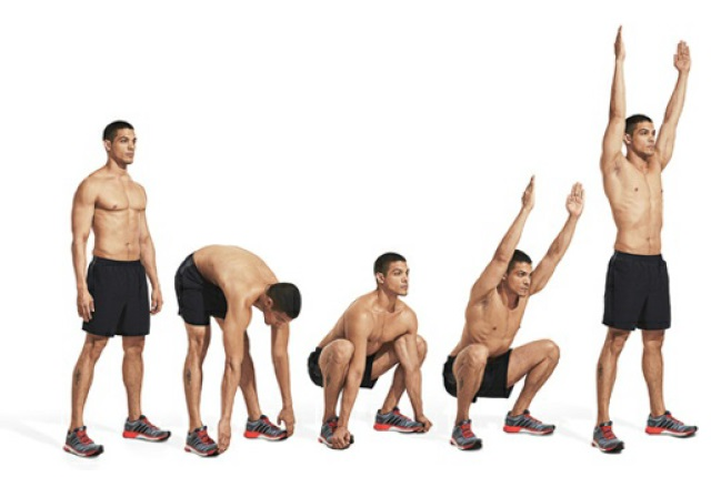 Squat Toe Touchers