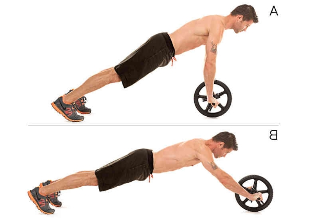 Ab wheel roll outs