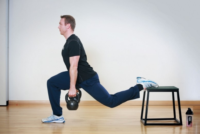Lunge Pulse And Hold