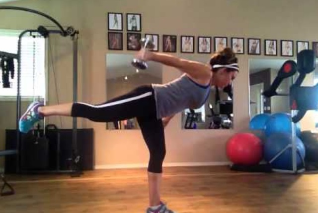 Stork Extension With Tricep