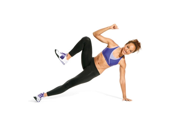 Side Balance Crunches
