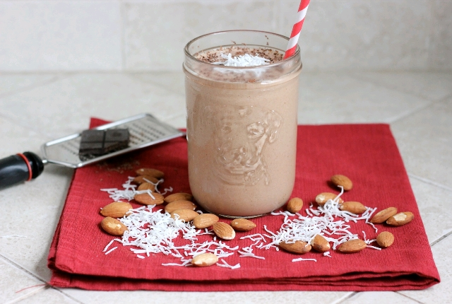 Almond And Coconut Smoothie