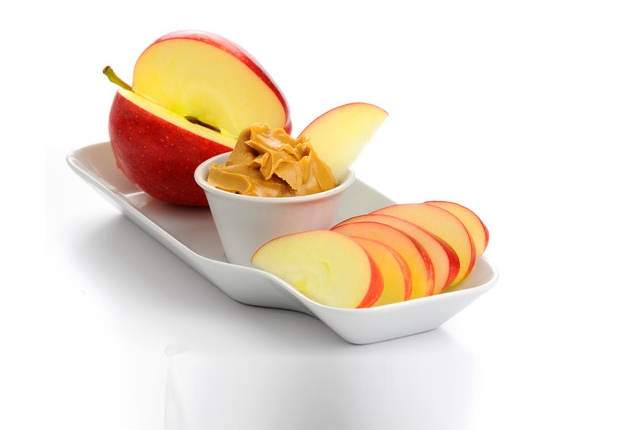 Apple With Or Without Almond Butter