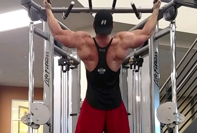 Cable Pull-Ups