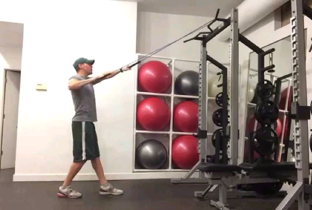Resistance Band Pull Downs
