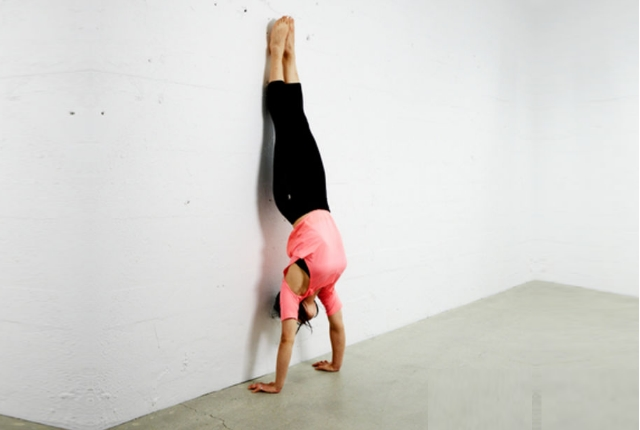 Handstand Against Wall