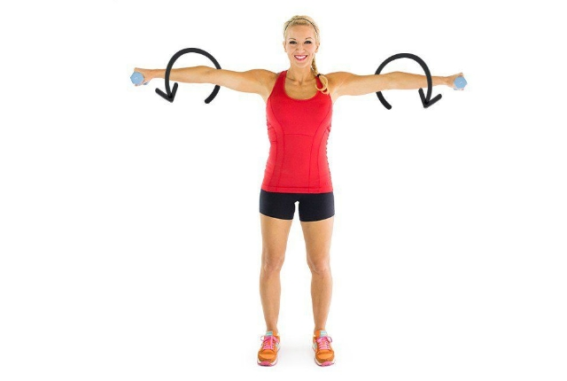 arm circles exercise