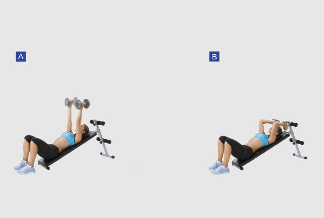 Lying Triceps Extension: