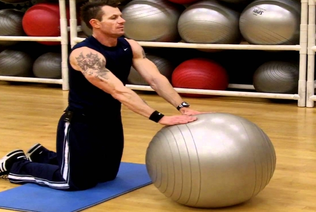 Exercise Ball Rollouts