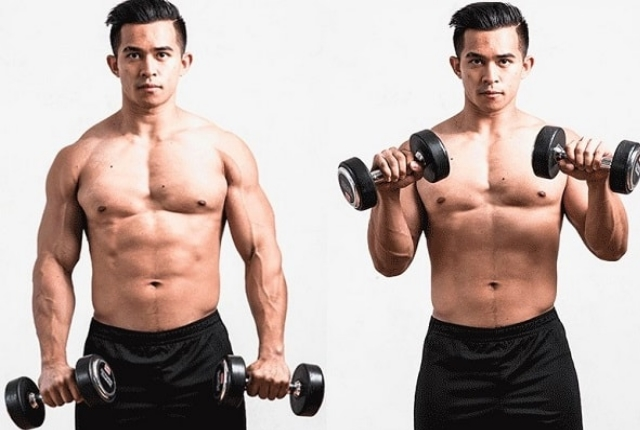 Grip Dumbbell Curl
