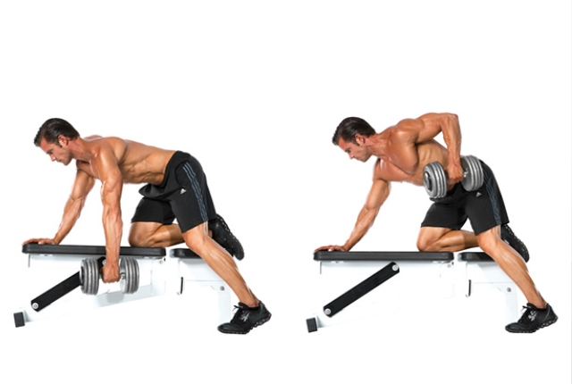 Single Arm Rows