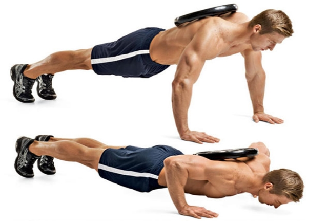 Chest Squeeze Pushup