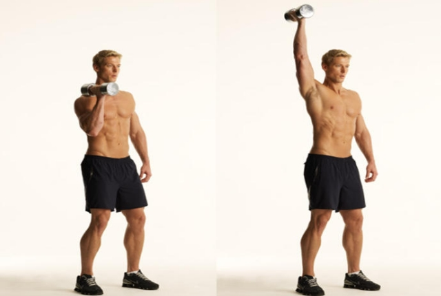Single Arm Overhead Press