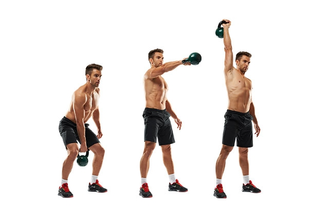 Kettlebell One-Arm High Pull