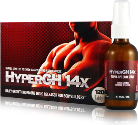 HyperGH 14x - Growth Hormone Booster