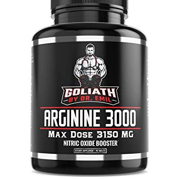Dr. Emil L Arginine (3150mg) Highest Pill Dosage – Review