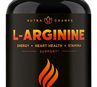 Premium L Arginine 1500mg Nitric Oxide Supplement - Review
