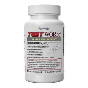 TestWORx by Superior Labs Testosterone Supplement