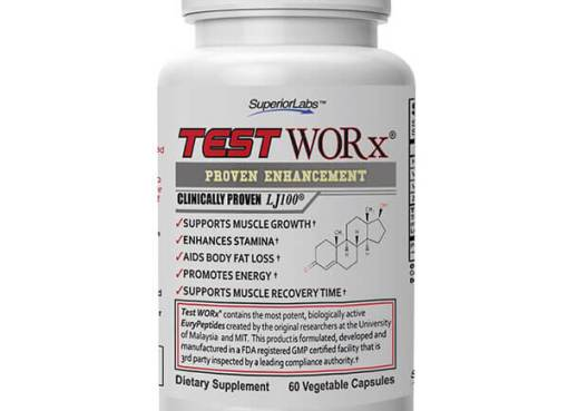 TestWORx by Superior Labs Testosterone Supplement