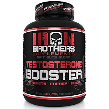 Testosterone Booster for Men by Iron Brothers Supplements
