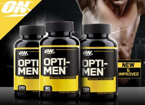 Optimum Nutrition Opti-Men Multivitamins
