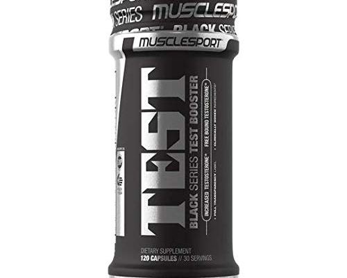 Test Black Testosterone Booster Review