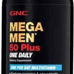 GNC Mega Men 50 Plus One Daily Multivitamin for Men