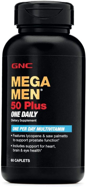 GNC Mega Men 50 Plus One Daily Multivitamin for Men