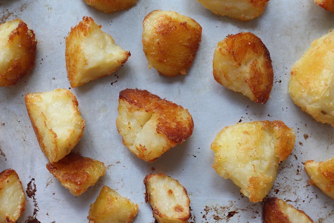 "Crispy ""fried"" potatoes"