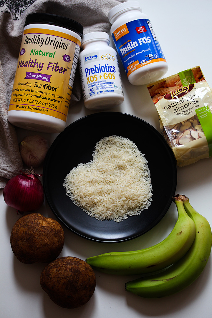Prebiotic food and supplements