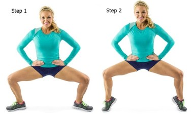 Image result for Tip Toe Squat for Round Butt