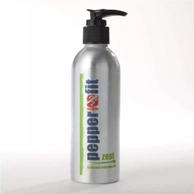 Pepperfit Zest Massage Oil