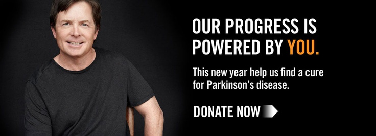 Michael J Fox Donate for Parkinsons