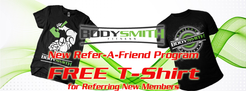 Refer a Friend to BodySmith Program