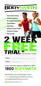 BodySmith 2 Week Trial