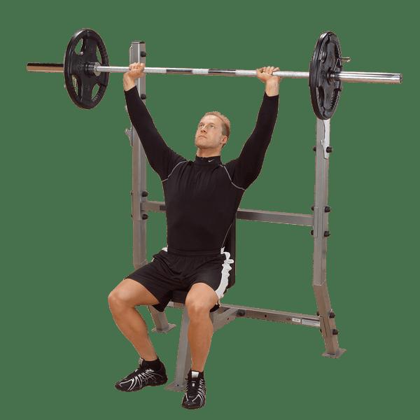 Spb368g Shoulder Press Olympic Bench Body Solid Fitness